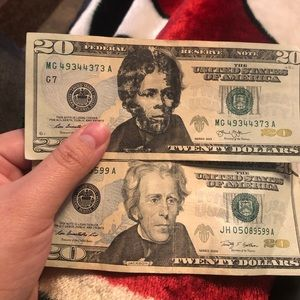 Collectible $20 bill